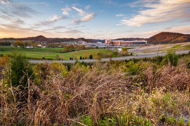 Photograph Bristol Motor Speedway at Sunset by Greg Booher on 500px