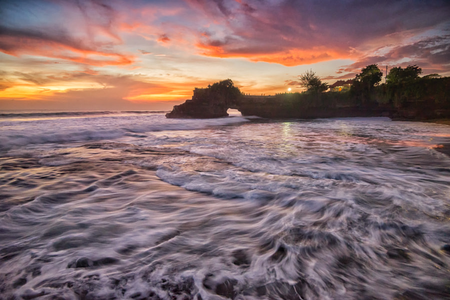 After Sunset at Batu Bolong by Kristianus Setyawan on 500px.com