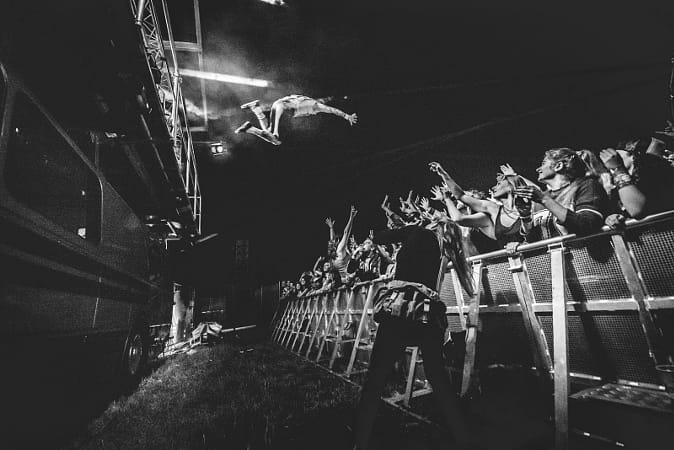 Stage Dive by Red Bull Photography on 500px