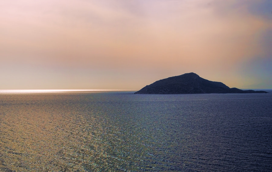 Photograph Island in the Sunset by Frank Dürr on 500px