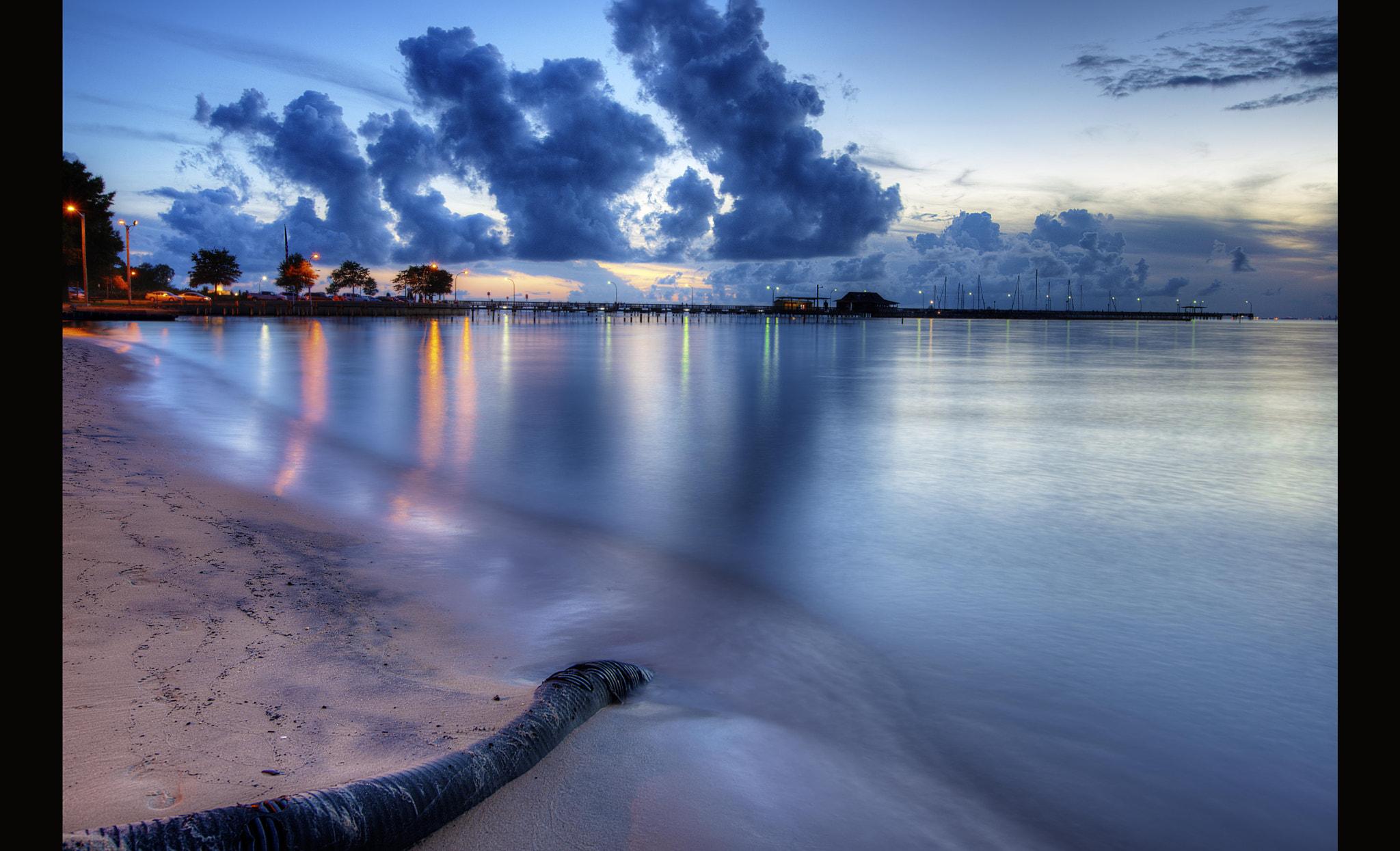 Photograph Fairhope After Sunset by Hemant Shukla on 500px