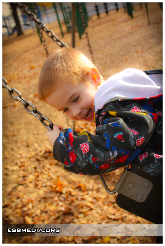 Photograph Ashton in the Swings by ESB Media on 500px