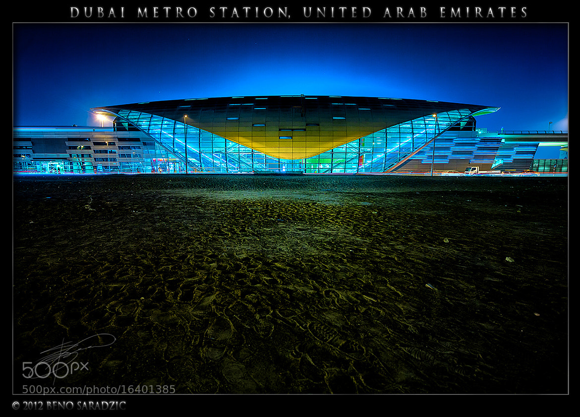 Photograph Dubai Metro station by Beno Saradzic on 500px