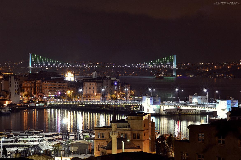 Photograph Istanbul at night by Gökhan Güler on 500px