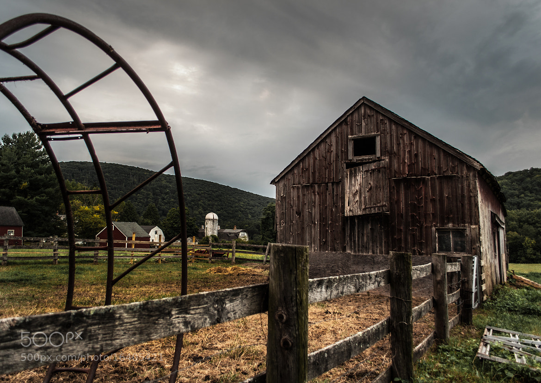 Photograph A Barn by John Virgolino on 500px