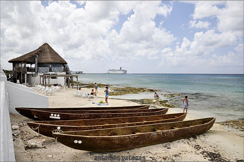 Photograph playa conzumel by Antonios Patanas on 500px