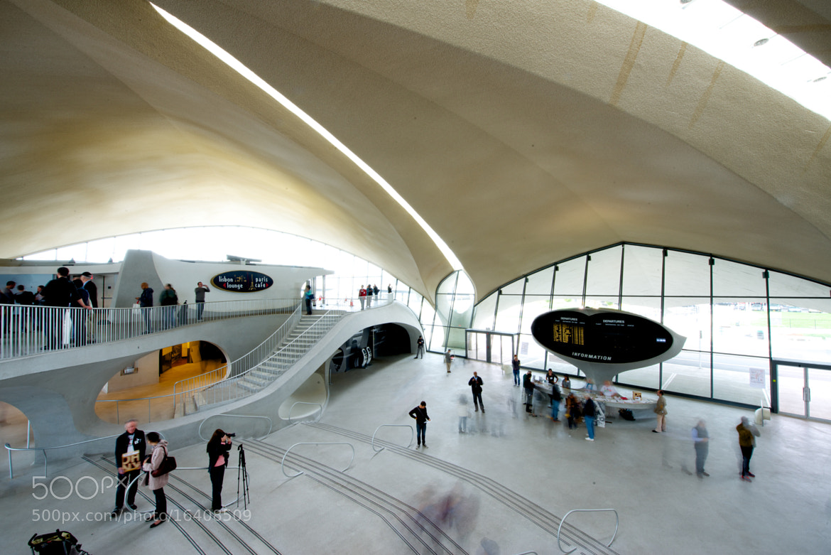 Photograph TWA Terminal 5 by Eero Saarinen by Josh Rubin on 500px