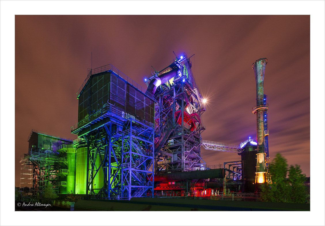 Photograph Illuminated furnace by Andre Abtmeyer on 500px
