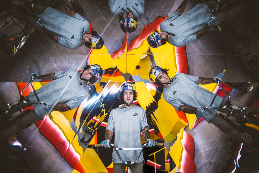 Kaleidoscope portrait by Red Bull Photography on 500px.com