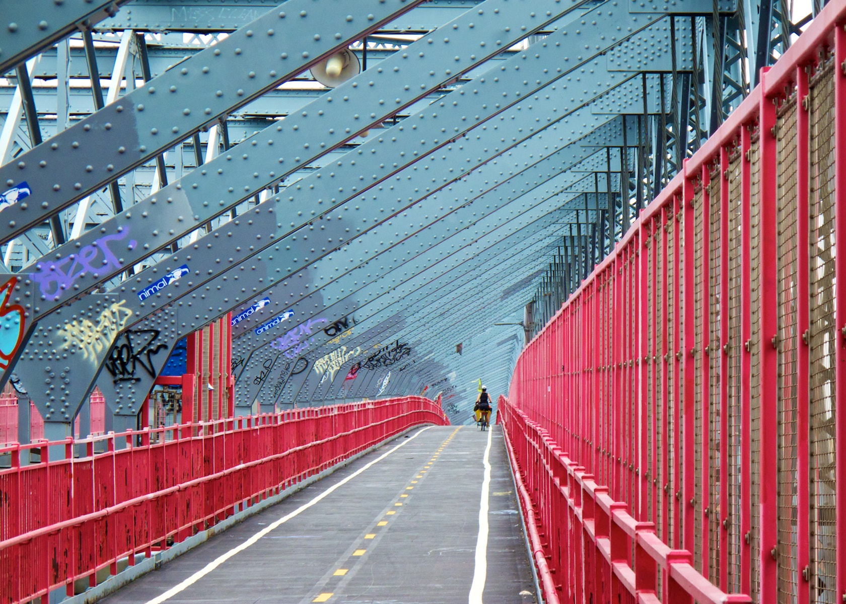 Photograph Williamsburg Bridge Abstract (New York 2012) by Zohar Manor-Abel on 500px