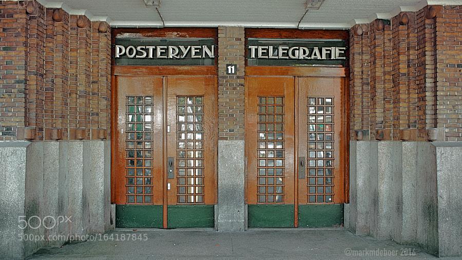 Posteryen Telegrafie