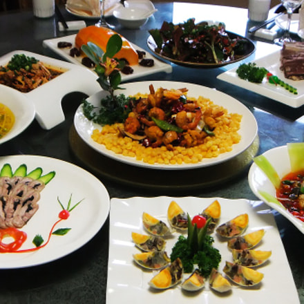Color of Chinese Food , Fujifilm FinePix REAL 3D W3