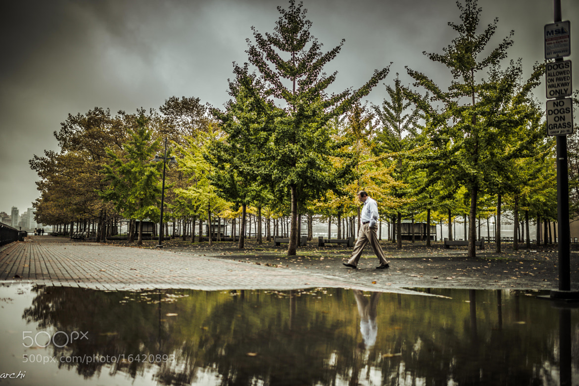 Photograph Fall is Here - Hoboken by Archana Patchirajan on 500px