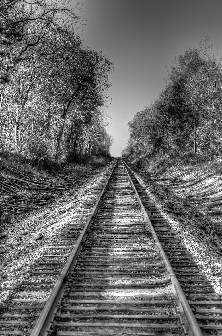 Photograph Railroad My Mother Walked 50 Years Ago by S Christian Benz on 500px