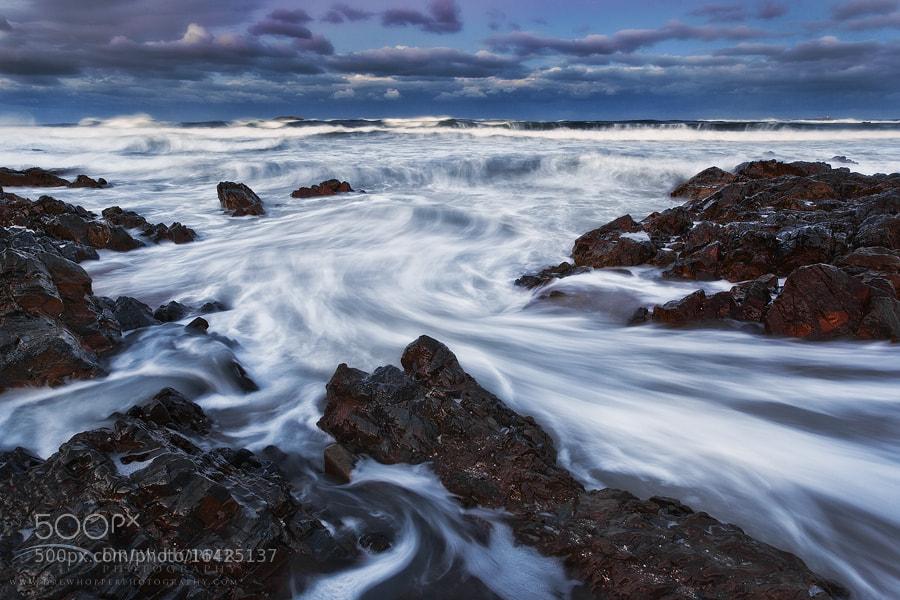 Photograph Receding Tide by Drew Hopper on 500px