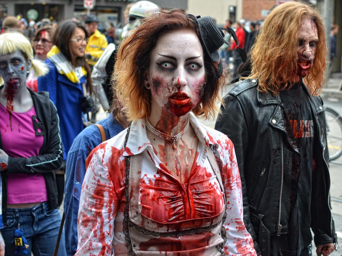 Photograph Zombie Walk Toronto 2012-5747 by Scott Snider on 500px