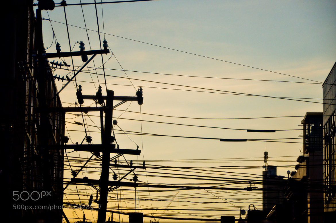 Photograph Wires and Cables by Reginald Mallare on 500px
