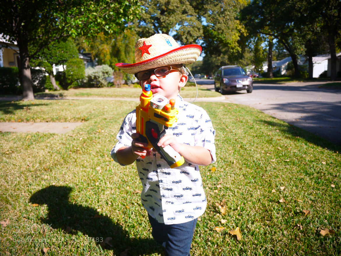 Photograph Cowboy with Nerf Gun by Jeremy Johnson on 500px