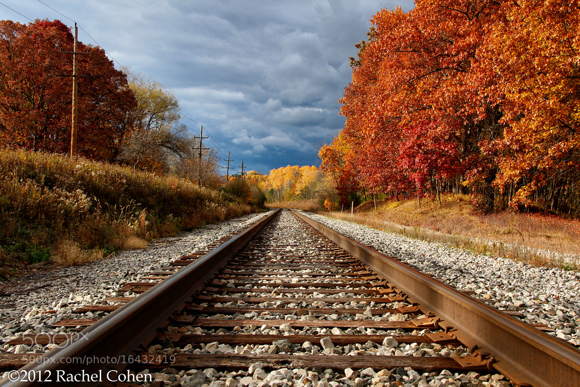 "Photograph ""Rails Ablaze"" by Rachel Cohen on 500px"