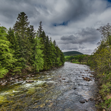 River Dee near Balmoral Castle