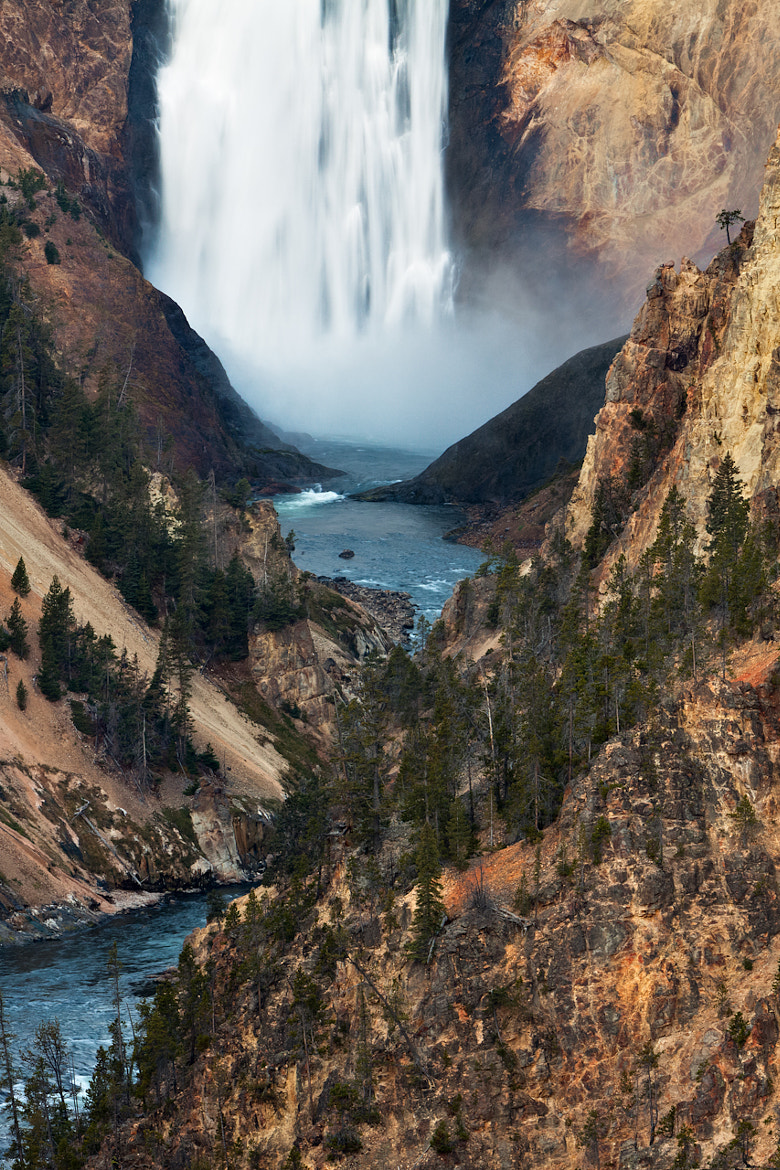 Photograph Lower, Lower Falls, Grand Canyon of Yellowstone by jared ropelato on 500px