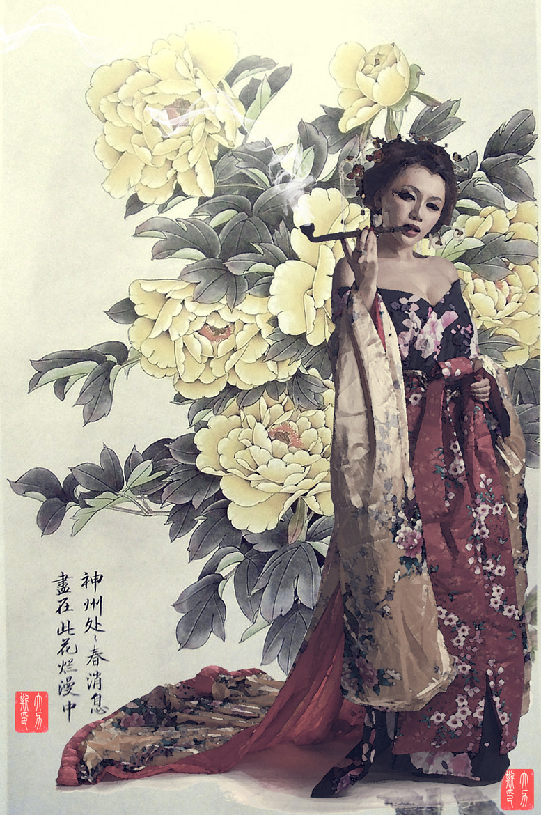 Photograph Traditional Chinese painting by A 力斯 on 500px
