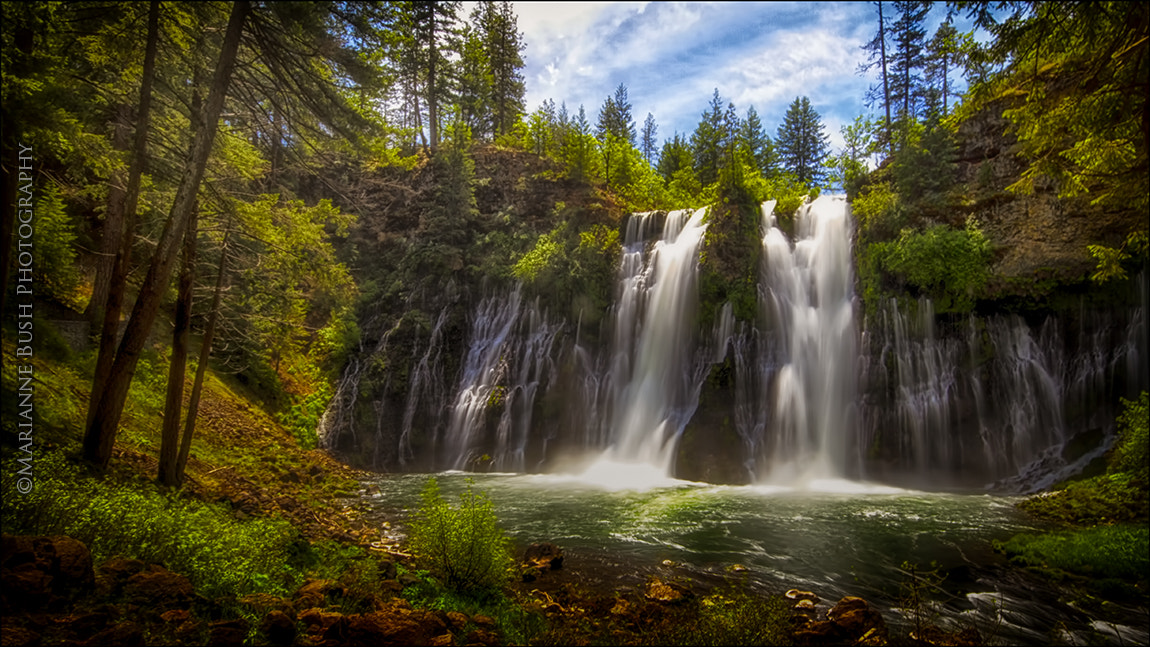 Photograph Burney Falls by Marianne Bush on 500px