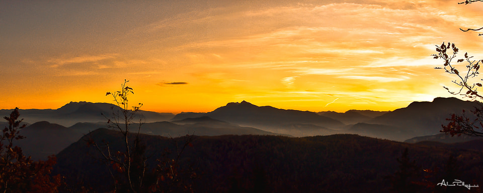 Photograph Sunset by Alessio Pellegrini on 500px