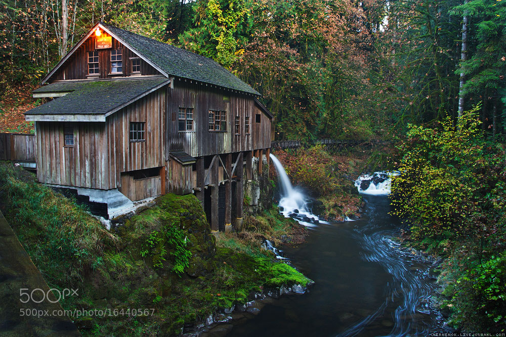 Photograph Cedar creek Grist Mill by Ilia Chernikov on 500px