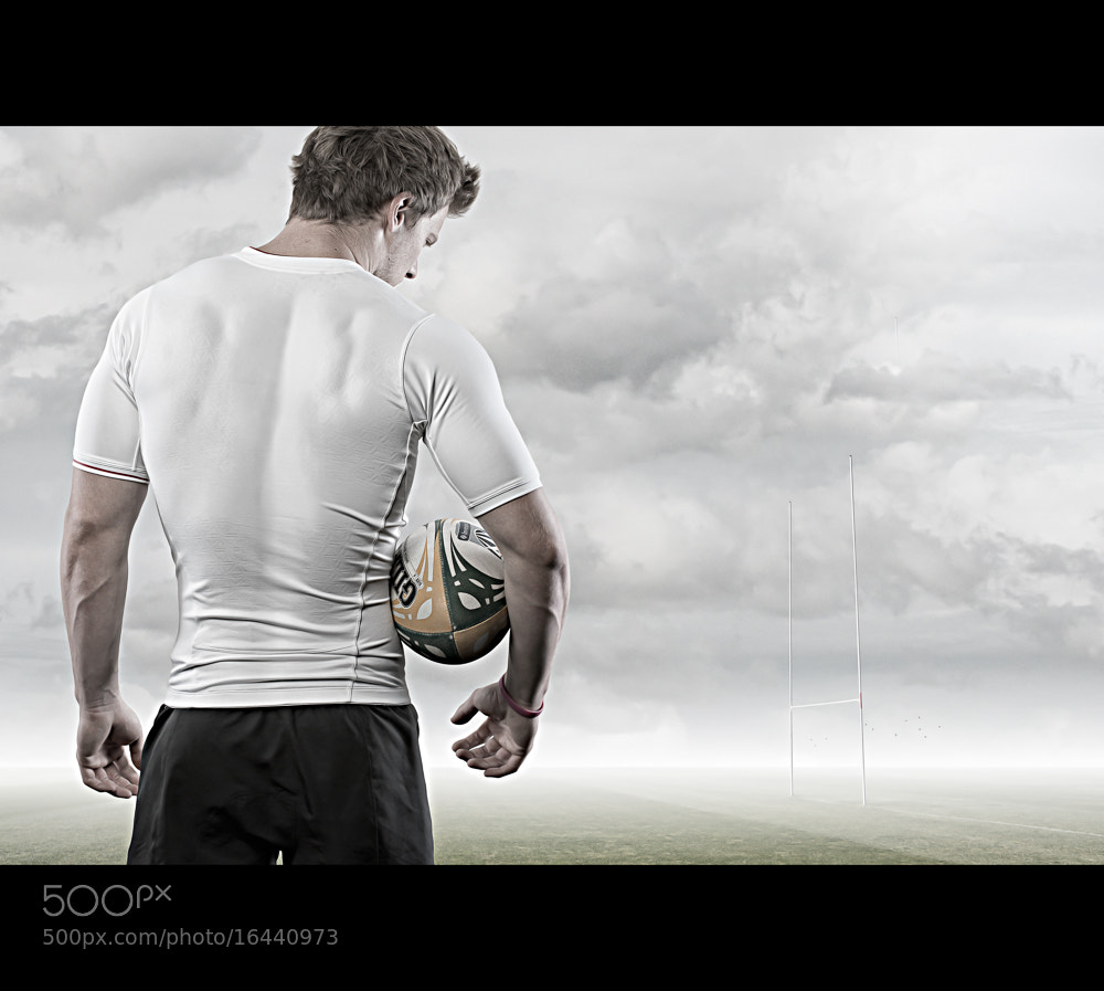 Photograph Rugby Player by Glyn Dewis on 500px