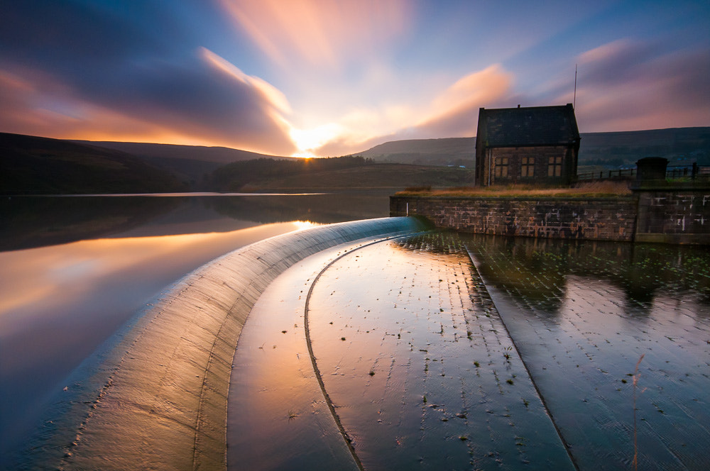 Photograph Sunset over Butterley Reservoir, Marsden by Billy Richards on 500px