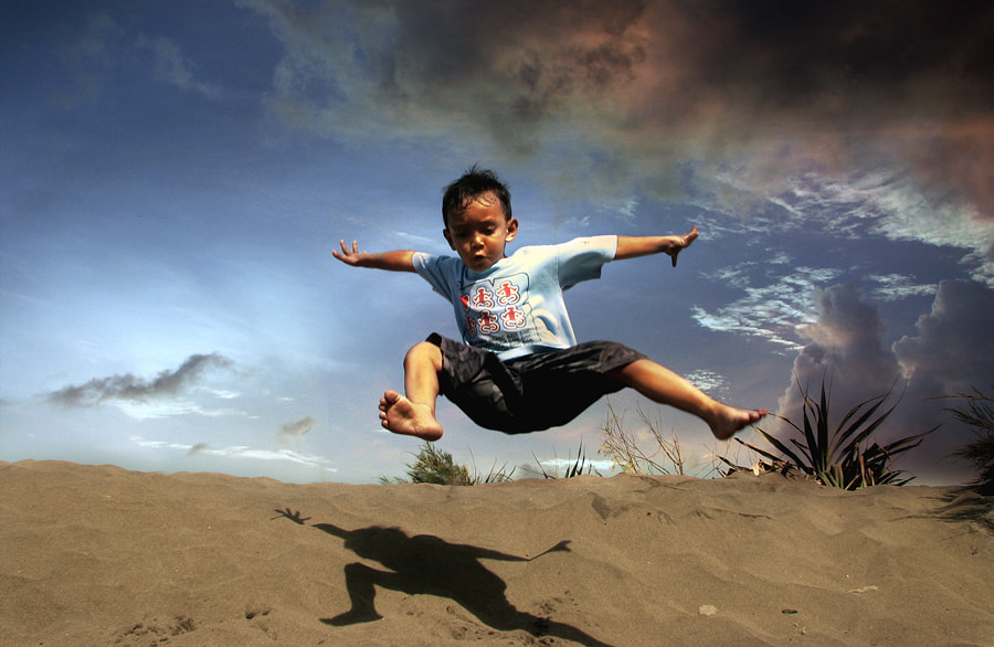 Photograph Jump.... by 3 Joko on 500px