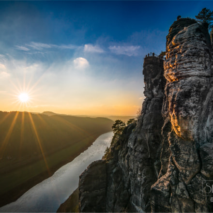 Elbe Sunset