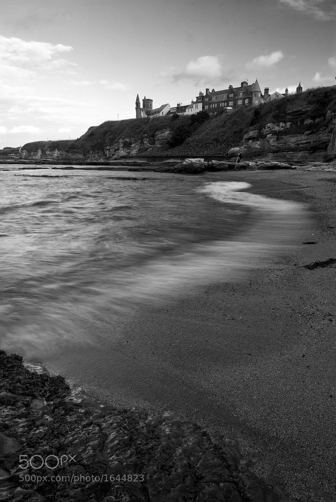 Photograph St. Andrews Castle Beach by Ian Potter on 500px