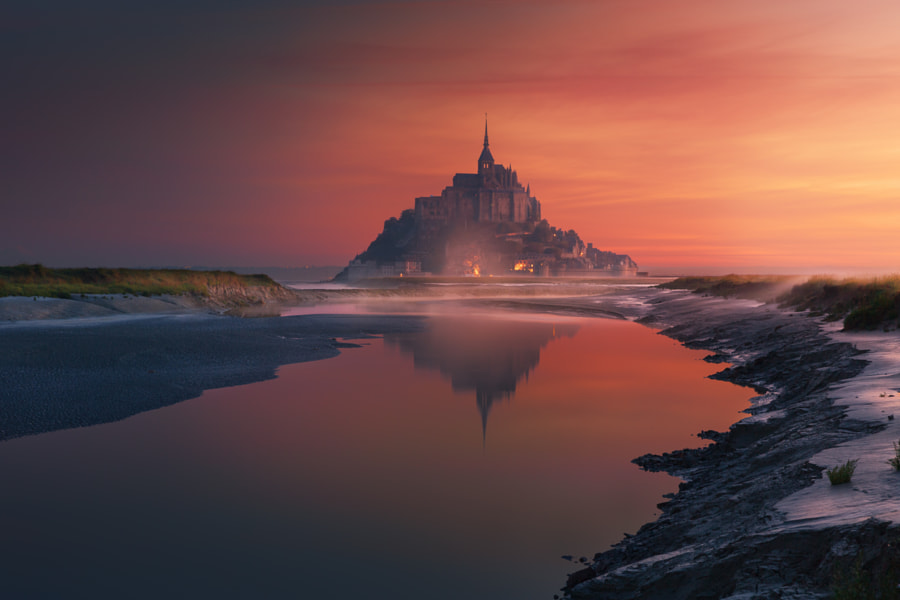 Mont Saint Michel by İlhan Eroglu on 500px.com