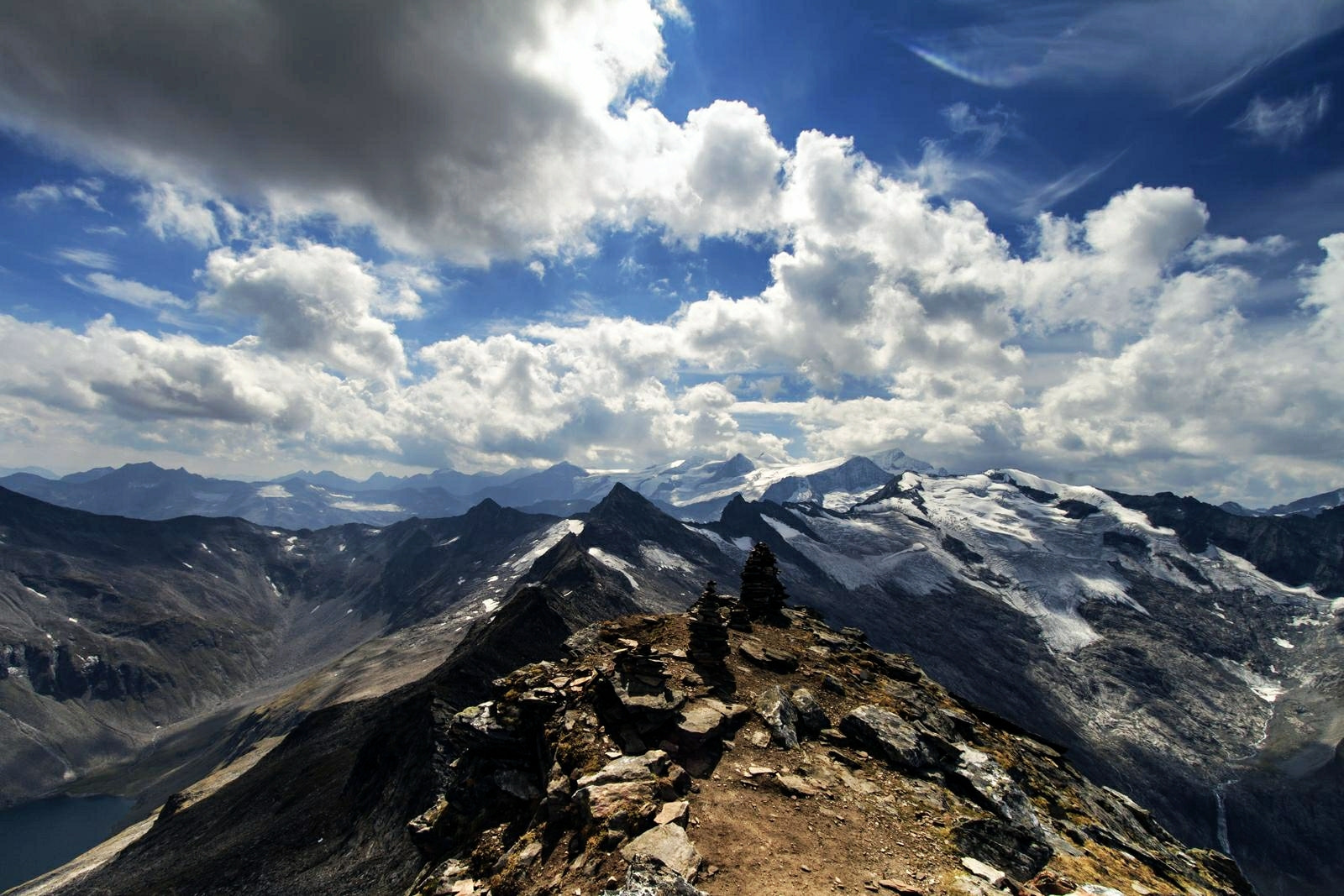 Photograph from top of Karmkogel by Zaoliang Luo on 500px