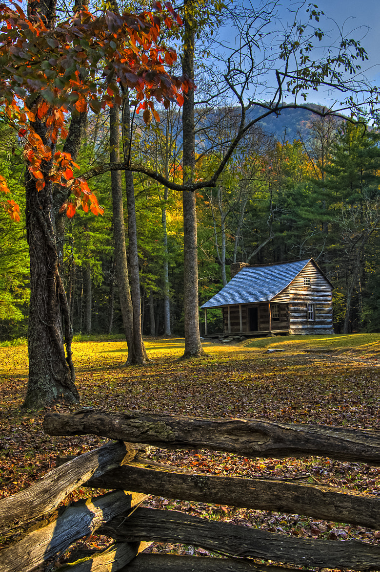 Photograph Carter Shields Cabin by Jack DeBlanc on 500px