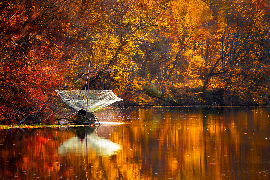Photograph A fisherman by Roman Dmytrenko on 500px