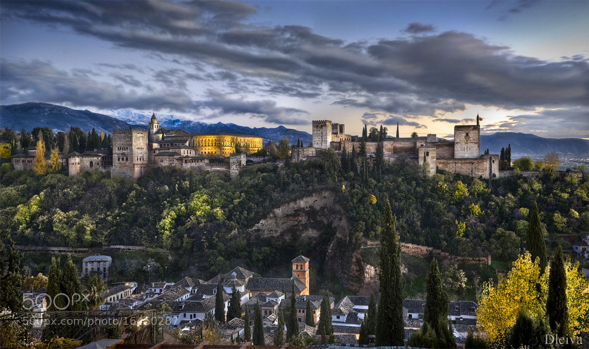 Photograph ALHAMBRA, ANDALUSIA, GRANADA, SPAIN by Domingo Leiva on 500px