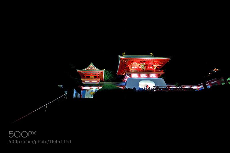 Photograph Akama-Jingu Shrine by Bu Balus on 500px