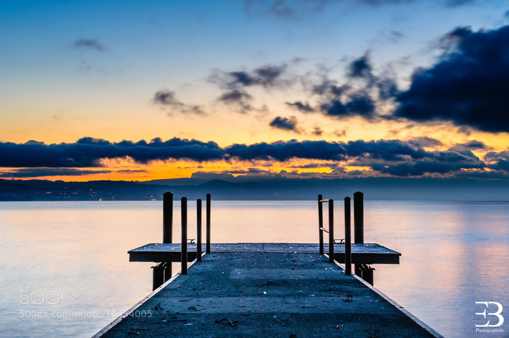 Photograph Sunrise on Lake Geneva by Eric Berger on 500px
