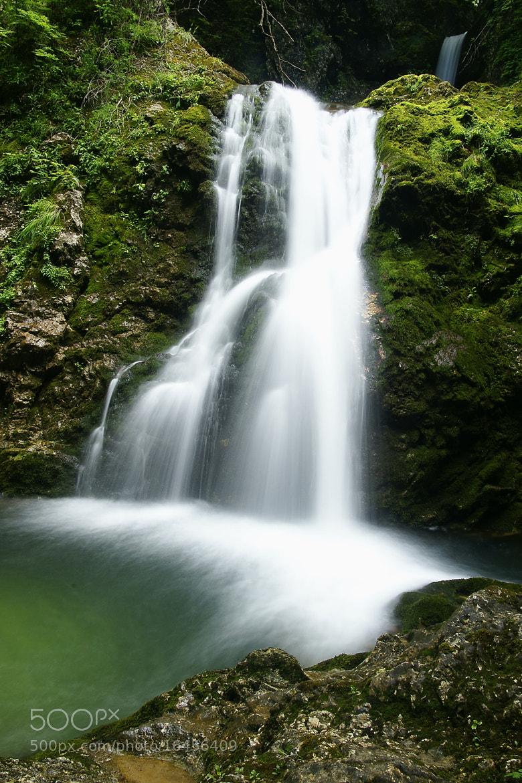 Photograph Brdarjev waterfall by Branko Frelih on 500px