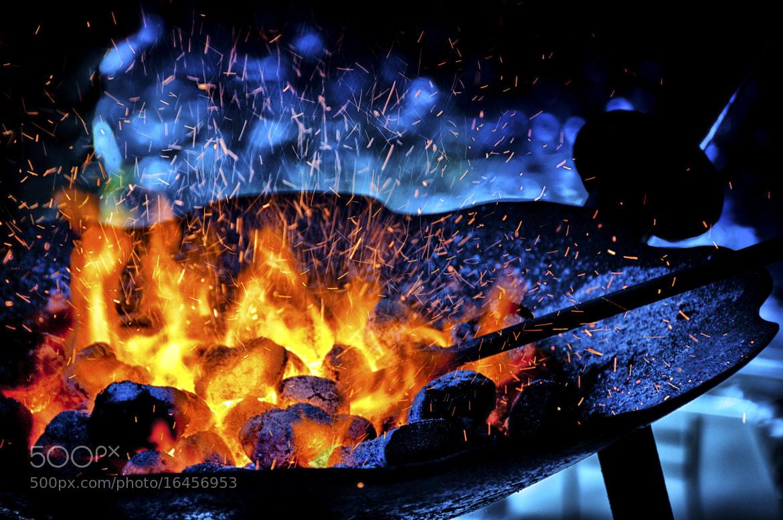 Photograph Blacksmith's Fire by Rex Adams on 500px