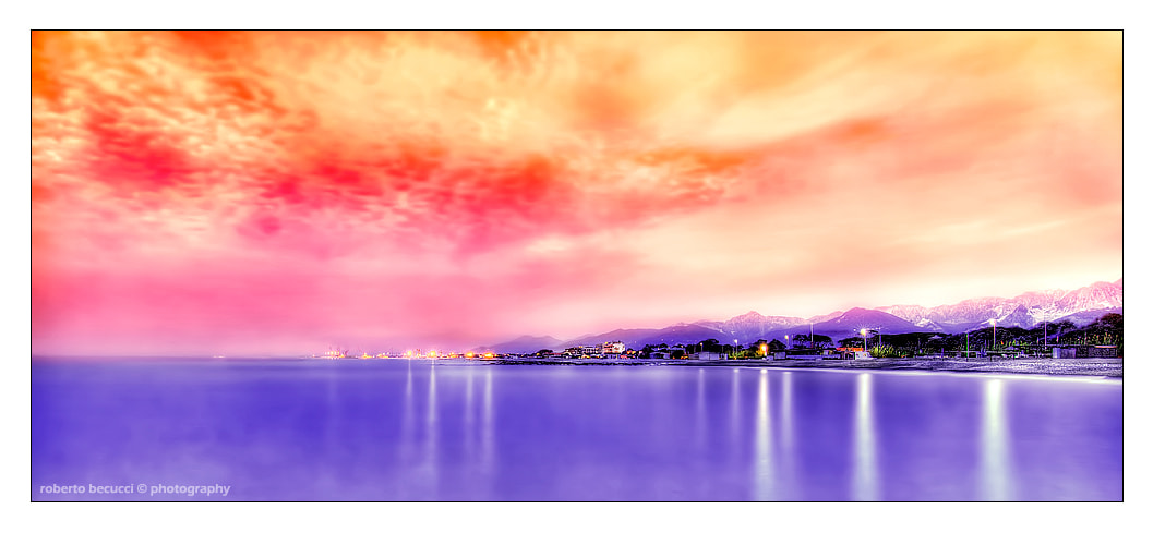 Photograph Versilia Sunset by Roberto Becucci on 500px