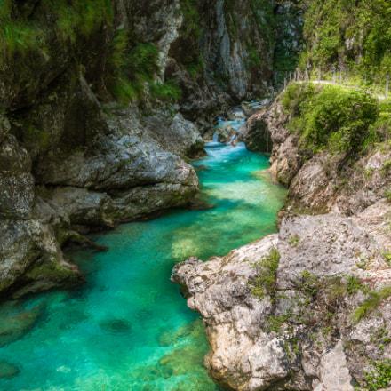 Tolminska Korita (The Tolmin Gorges)