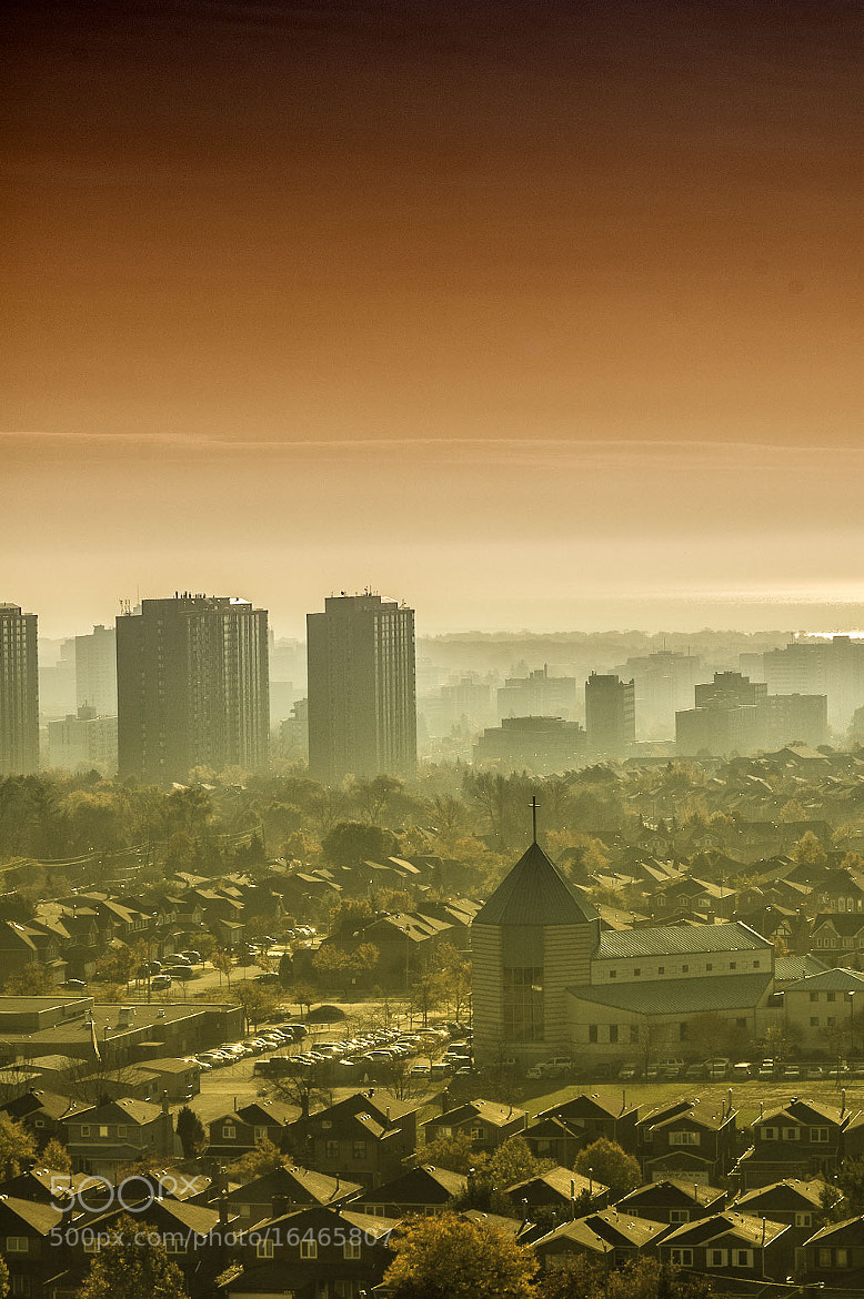 Photograph Foggy morning at Mississauga by Ramkumar Sangameshwar on 500px