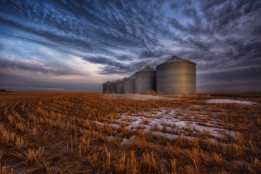 Spring SIlos by Ian McGregor on 500px.com