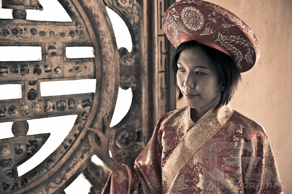 Photograph Vietnamese princess by Guillaume Catella on 500px