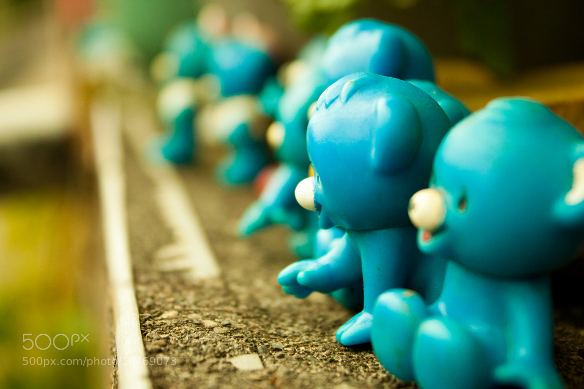 Photograph blue army by Chieh Cheng on 500px