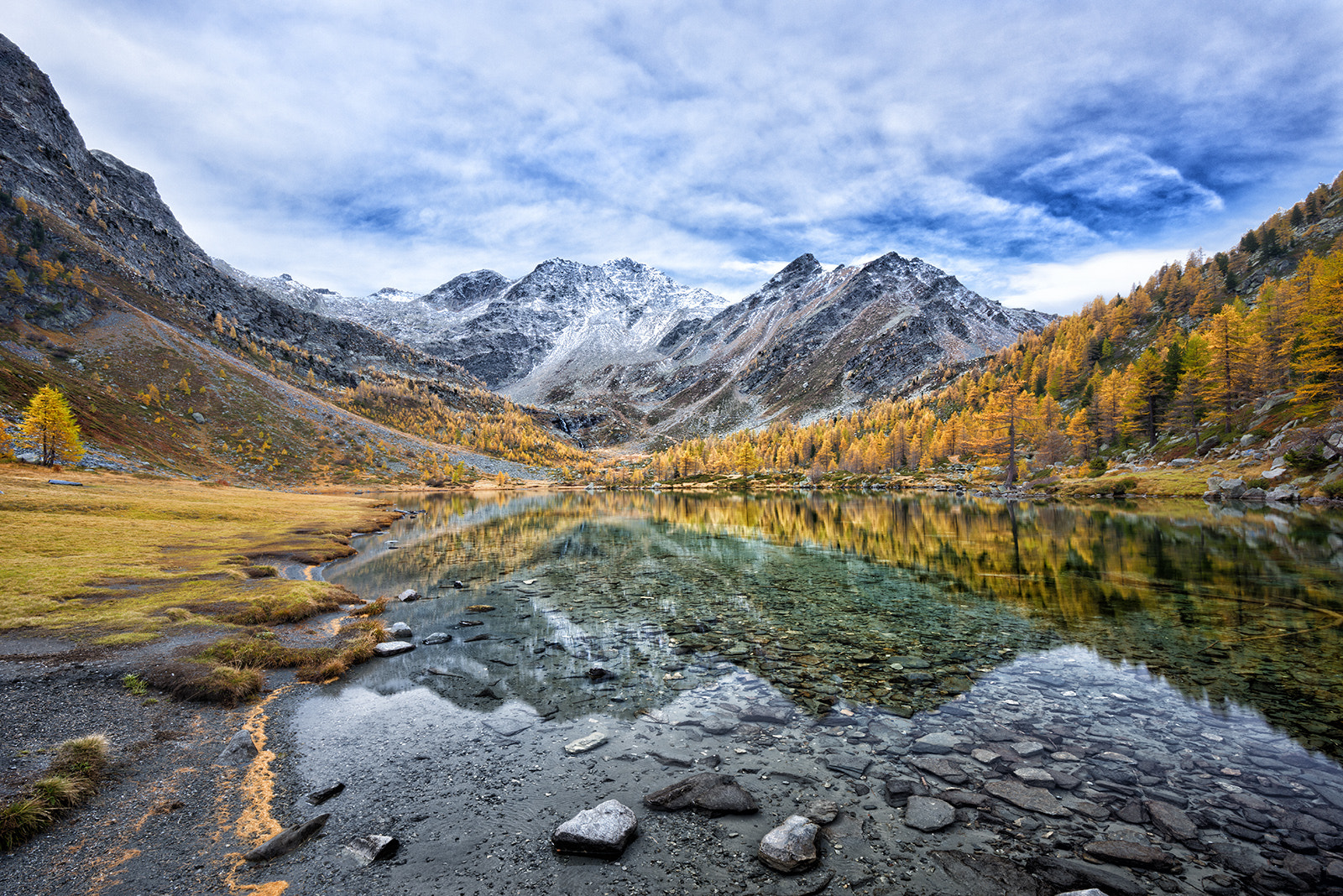 Photograph Arpy Lake Panorama by Marco Carmassi on 500px